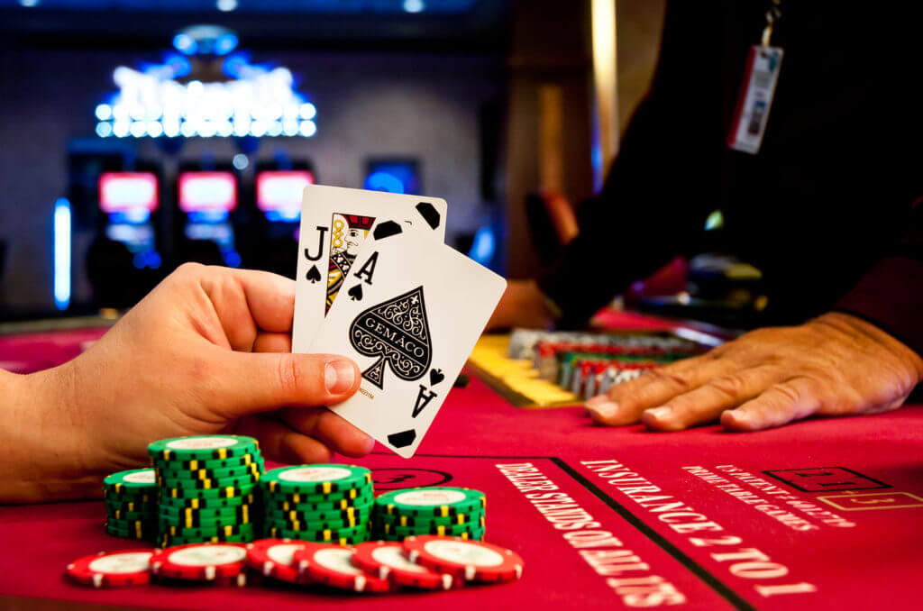 Play casino card game online at the CA club